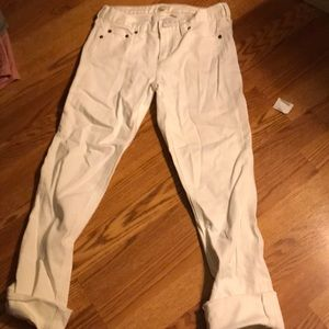 J. Crew Pants - Jcrew white Capri new with tags on